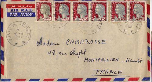 Enveloppe 18 09 1963