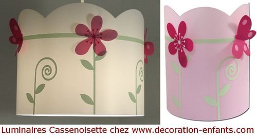 Papillons : suspension et applique