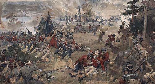 War of 1812 Battle of Queenston Heights