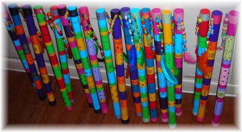 Divers activites manuelles le scrap co de chris for Decoration baton de pluie
