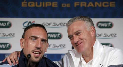 Ribery Deschamps