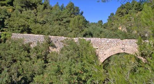 FLAYOSC pont romain