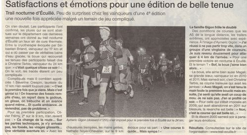 Ouest France 18.12.2012