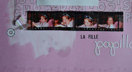 LA FILLE PAPILLON