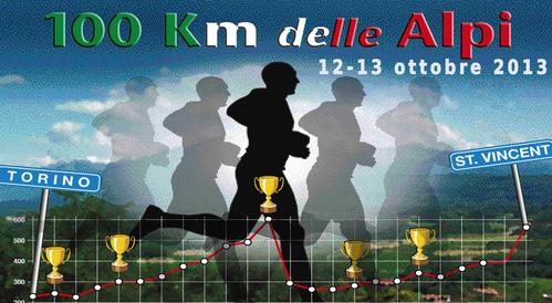 100 km delle Alpi 2014 (6^ ed.). Mancano meno di due settimane al va dell'ttsa 6^ edizione della 100 km delle Alpi, in continua crescita