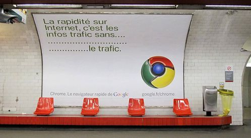 affiche Google chrome 2