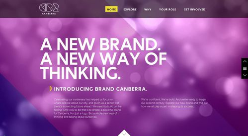 site web marque canberra