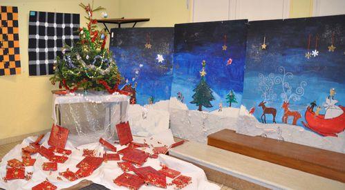Flo Noël Peinture 2010 Atelier de Flo 1