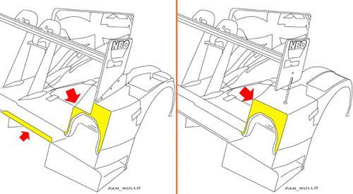 HPD ARX 03a rear fender trailing edge LM 2012 Low