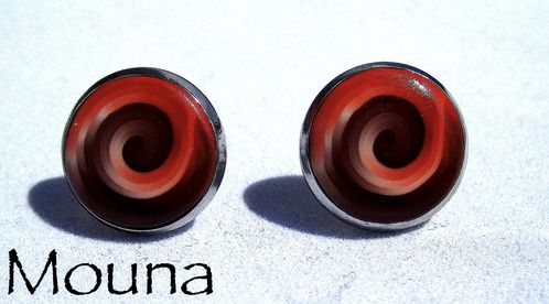 Boucles puces Savane 1 DISPONIBLE: 10 euros.