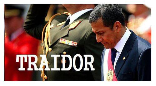 Humala traidor 1