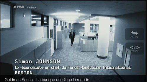 SIMON JOHNSON ex-chef Economiste au FMI