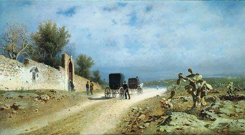 Di là del Faro. Paesaggi e pittori siciliani dell'Ottocento. Dal 9 ottobre al 9 gennaio 2015, a Palermo, nello scenario di Villa Zito: una rassegna in 100 opere