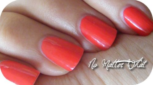 Swatch OPI Red 2