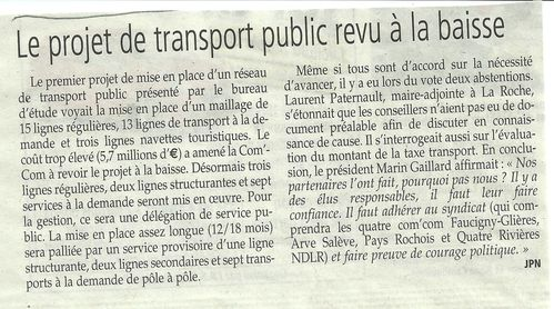 Transports Pays Rochois