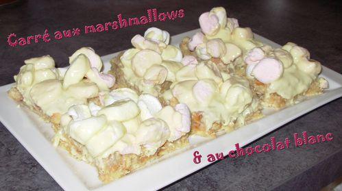 Carré aux marchmallows & chocolat blanc2