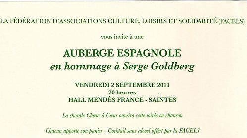 invitation Serge