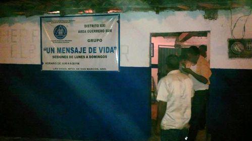 MEXIQUE 876b las vigas GUER grupo un mensaje de vida
