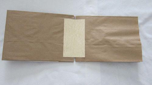 Scrap lunch bags (12)