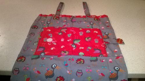 Sac pour sac rouge et gris (9)