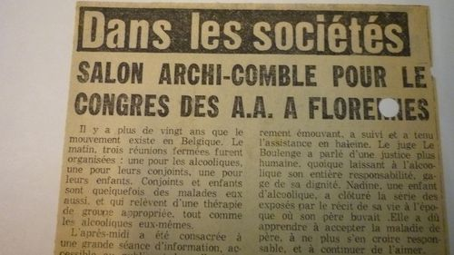 ARCHIVES BSG BRUXELLES 201 nouvelle gazette 30.09.1976