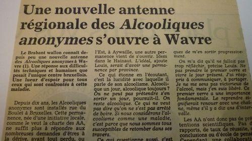 BSG BRUXELLES 227 le soir 22.03.1990
