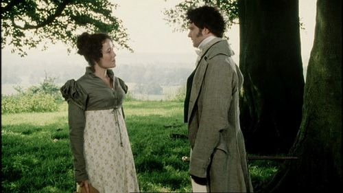 Lizzie et Mr Darcy