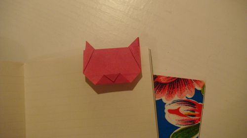 RUCHE CHAT ORIGAMI