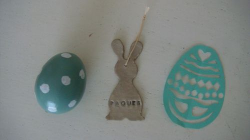 LAPIN DECO PAQUES