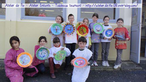 Tableau tournant-Peinture-Donchery-Atelier de Flo Megardon16