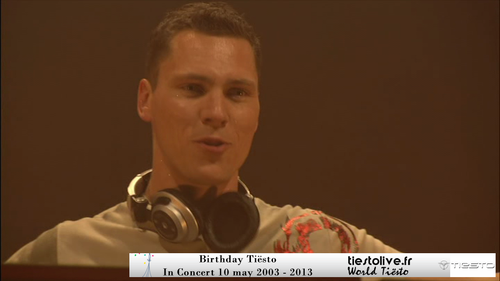 Birtdhay Tiësto in concert 2003 Spécial 10 years (1)