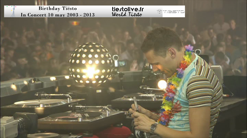 Birtdhay Tiësto in concert 2003 Spécial 10 years (3)