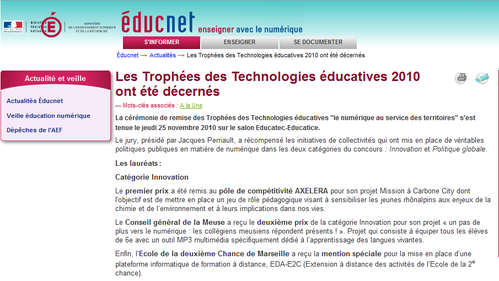 TrophéesEducaticeEducnet