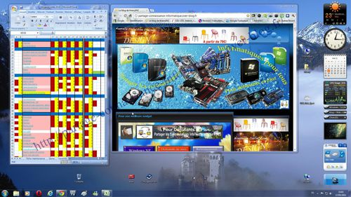 Retrouver les positions des fen tres sous windows 7 en for Fenetre windows 7