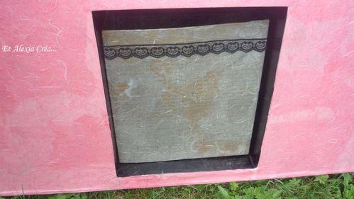 urne en carton evantail dos
