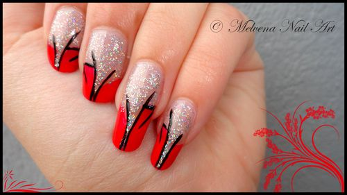 nailartrougepail1