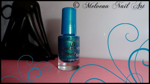vernis essence bleu acidulé flacon
