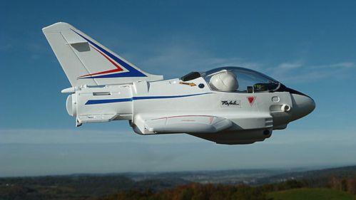 avion de chasse playmobil