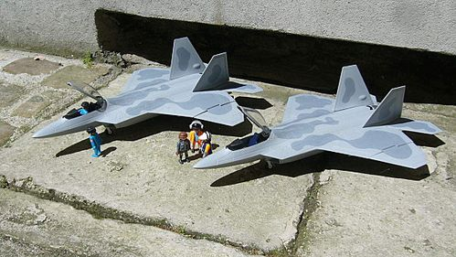 raptor f 22 playmobil a