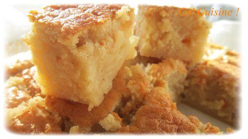 gâteau au lait de coco à la texture hors normes - co' cuisine !