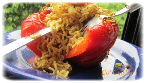 poivron farci aux nouilles chinoises (1)