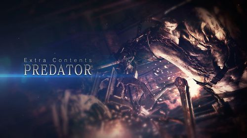 RE6 gameaddon Predator Title screen