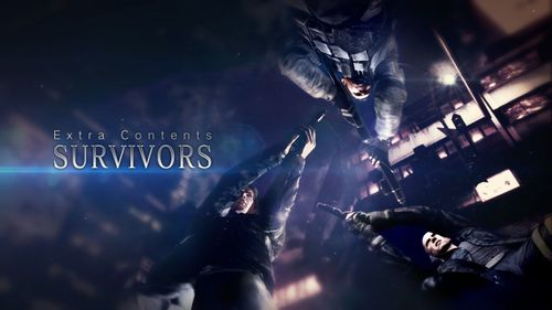 RE6 gameaddon Survivors Title screen