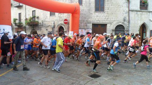 Circuito Ecotrail Sicilia 2014. Numeri da record all'Ecotrail dei Borghi di Petralia Soprana