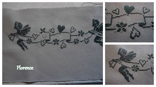 Broderie anges
