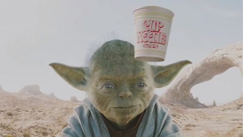 YODA - NISSIN CUP NOODLE
