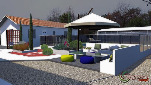 plan de terrasse 3d plan de jardin 3d le blog de plan. Black Bedroom Furniture Sets. Home Design Ideas