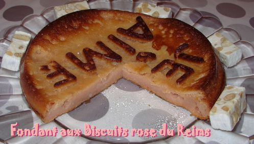 Fondant aux biscuits rose3