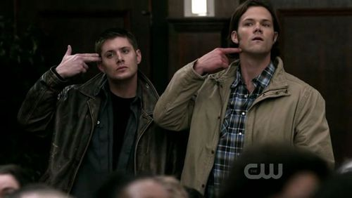 Supernatural the real ghostbusters