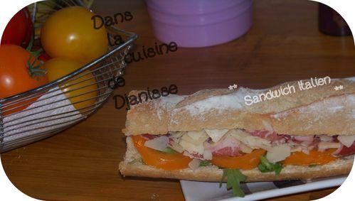 sandwich italien 2